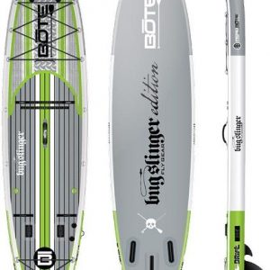 Bote Drift Aero Inflatable Stand Up Paddle Board with Paddle – 11′ 6″
