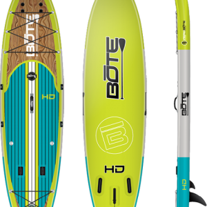 Bote HD Aero Inflatable Stand Up Paddle Board with Paddle – 11′ 6″