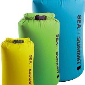 Sea to Summit Lightweight Dry Sacks – Set of 3