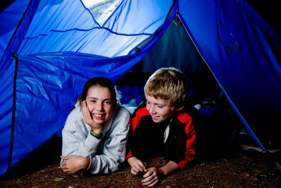 Top 4 Tips for Camping with Kids