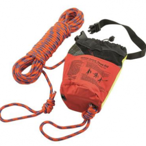 Shoreline Marine Safety Throw Rope Bag, 5/16″x50′