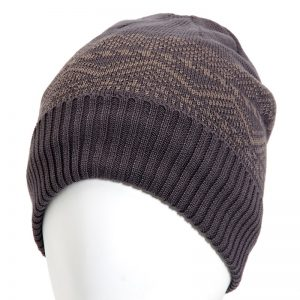 Mens Cuff Hat with Fleece Lining