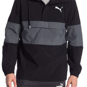 PUMA Half Zip Windbreaker