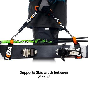 Sukoa Ski & Pole Carrier Straps