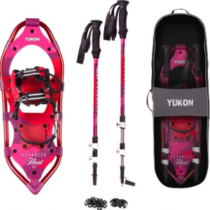 Yukon Charlie's® Women's Advanced Float 8″ x 21″ Snowshoes